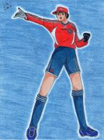 Genzo plays for Bayern Munich by Lily-de-Wakabayashi