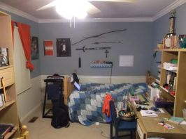 Half side of my room by Dandric101