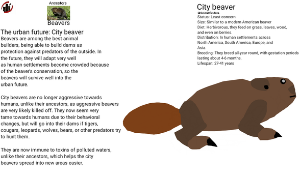 Urban future - City beaver by dylan613