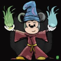 148-365 Sorcerer Mickey by ChrisGritti