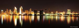 Downtown San Diego by enikcilik