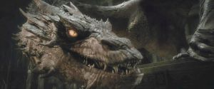 The Hobbit-Smaug 04 by Jd1680a