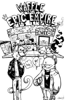 Welcome to the Waffle Epic Empire by thekillamari