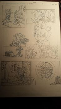 sonic comic origins ant pencils pg3 by trunks24