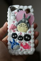 My Neighbor Totoro decoden case by LittleLoveInc