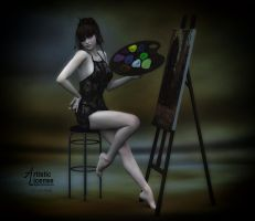 The Artist by x-bossie-boots-x