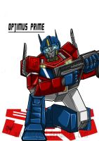 Conwork-Optimus prime by MikeOrion