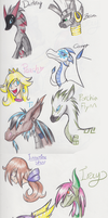 Colored Pencil Requests by SolarPaintDragon