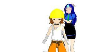 MMD HTF Updated Petunia and Handy Download by Nanashione