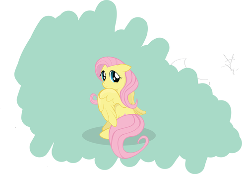 Fluttershy Finished by Wreky