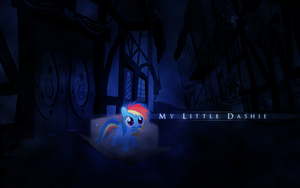 My Little Dashie by Vexx3
