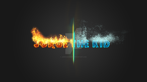 Fire and Water Text Effect by JkDragonDude