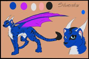 silverstar ref by Zannathedragon