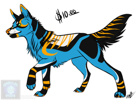 [Cash Adopt] UnNatural Wolf 1 [SOLD] by Linkaton