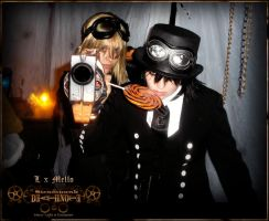 Steampunk DeathNote: Bang by Maru-Light