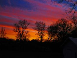 Feb 6 2015 sunset #3 by HomeOfBluAndshadows