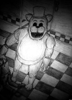 3/14: GOLDEN FREDDY by CarlitoxProductions