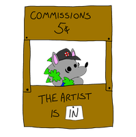 Commissions Open by Weretoons101