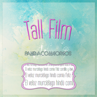 Tall Film by PandaComeOreos