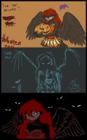 halloween sketchdump by astercrow