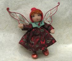 Fall Berry Pixie by fairiesnest