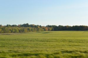 Fields In the Autumn Landscape 2 by Miss-Tbones