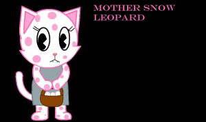 Mother Snow Leopard by winxJenny