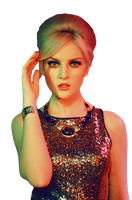 Perrie Edwards PNG by flawlessduck