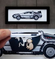 Delorean Cut-Out by a4anner