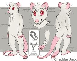 cheddar ref commission by piranhapettingzoo