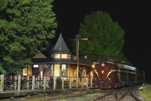 PRR At Night by 3window34