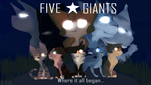 Whiskermoon's Five Giants Contest! by CreativeCinnamonCat