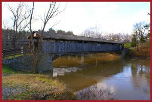 Covered Bridge by Variety-Stock
