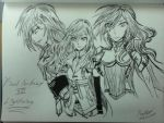 Final Fantasy XIII Lightning by beautifulsarah93