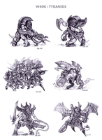 Tyranids by WEAPONIX