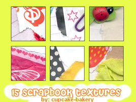 scrapbook textures by cupcake-bakery