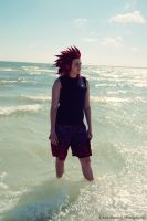 .Axel-Carefree. by mysticmoon13