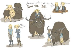HTTD/Dob: Sam the Yak by DreamaDove93