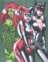 The Gotham Girls by RobertMacQuarrie1