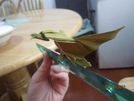Origami eagle by Odolwa5432