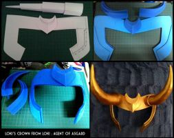 :prop: Loki's crown [ Loki: Agent of Asgard ] by PrinceOfRedroses