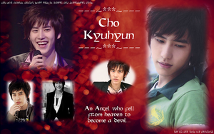 Kyuhyun wallpaper for Uhn-nee by garche4291