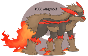 Leitoh Region - #006 Magmolf by craptastics