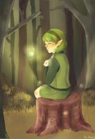 Saria will always be... your friend. by Abstractmeow