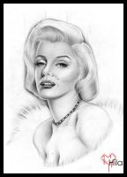 .: Marilyn :. by tainted-orchid