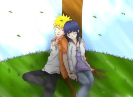 NaruHina-Under A Tree(2) by VietBBoyTobi
