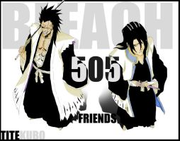 BLEACH 505 - Friends by SKurasa