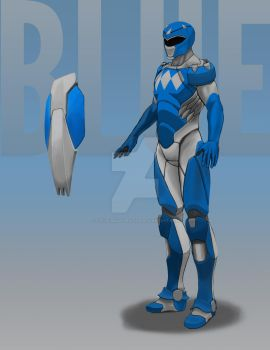 Blue Ranger 2 by StevieJIllustration