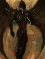 Dark Eldar: Scourge 3 by Beckjann