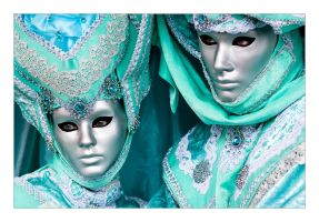 Venetian masks 2 by flemmens
